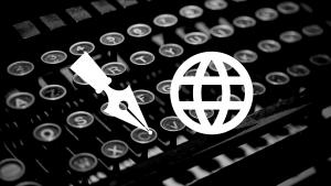 blog-icons-over-typewritter