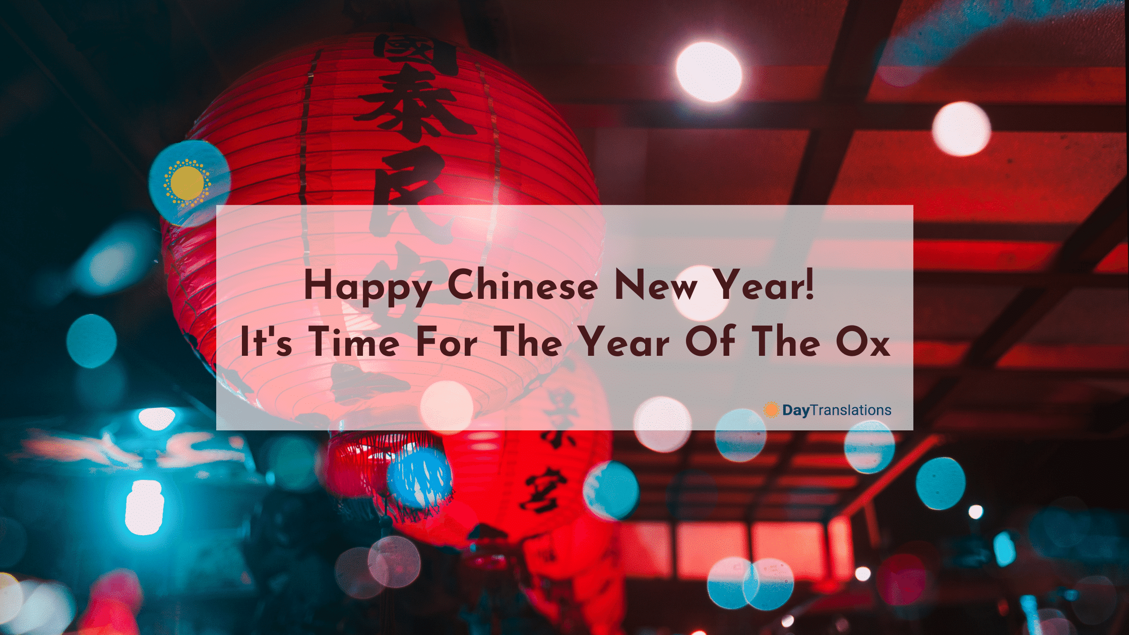 Happy Chinese New Year! It's Time For The Year Of The Ox