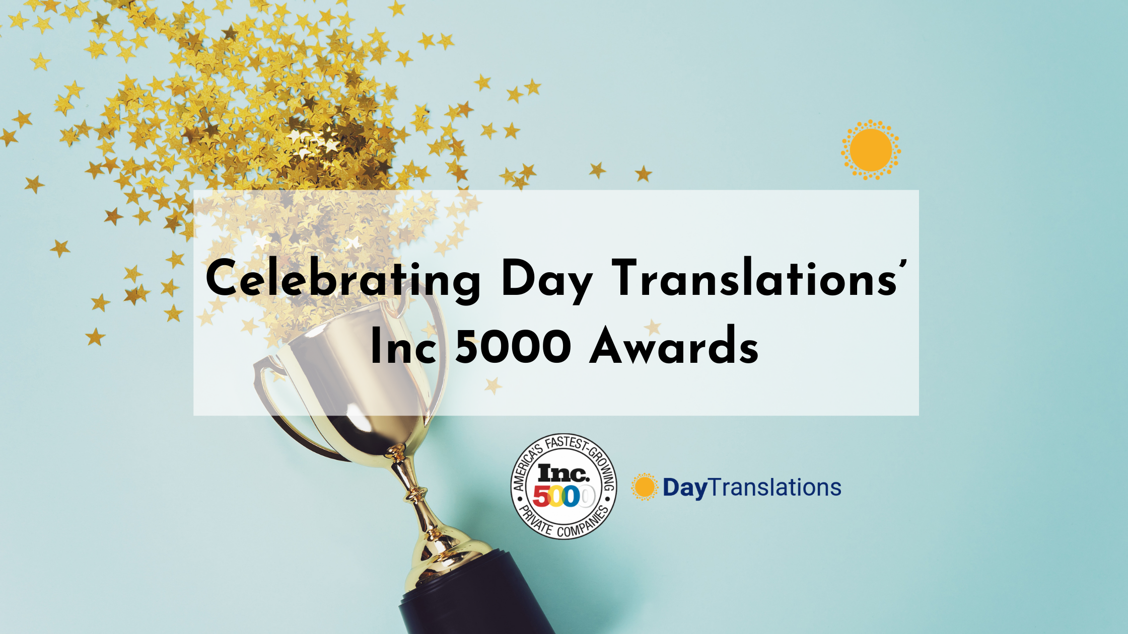 Celebrating Day Translations' Inc 5000 Awards and What It Means