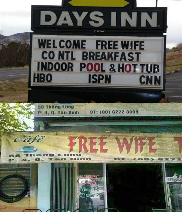 Day Translations Mistranslations - Free Wife