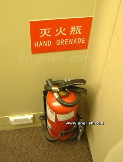 Day Translations Mistranslations Hand Grenade