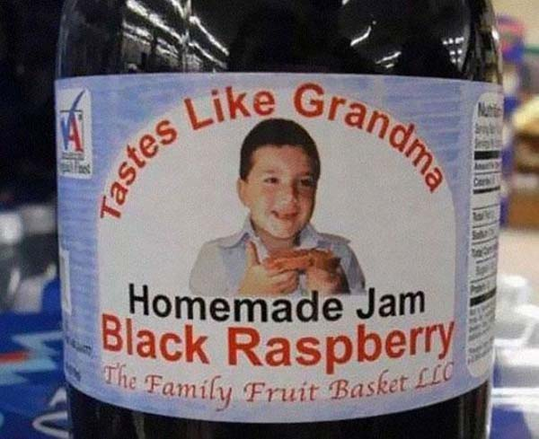 Mistranslations-Tastes like grandma