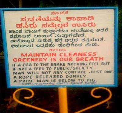 Mistranslations - Fun Signs