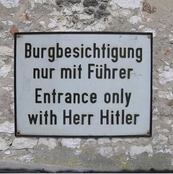 Mistranslation - Herr Hitler