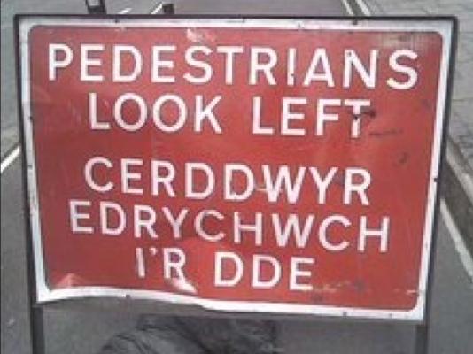 DayTranslations-PedestrianSign-WelshtoChineseTranslations