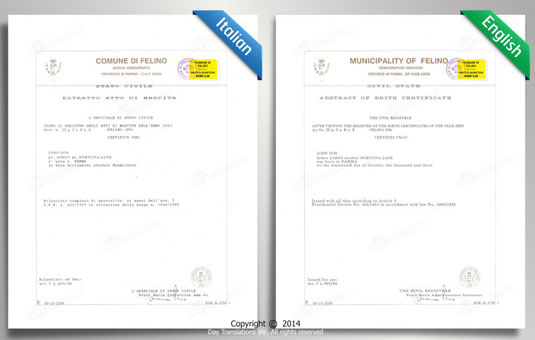 birth certificate translation from spanish to english template - certified translation samples day translations work
