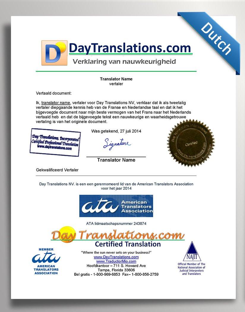 DayTranslations-COA_Dutch