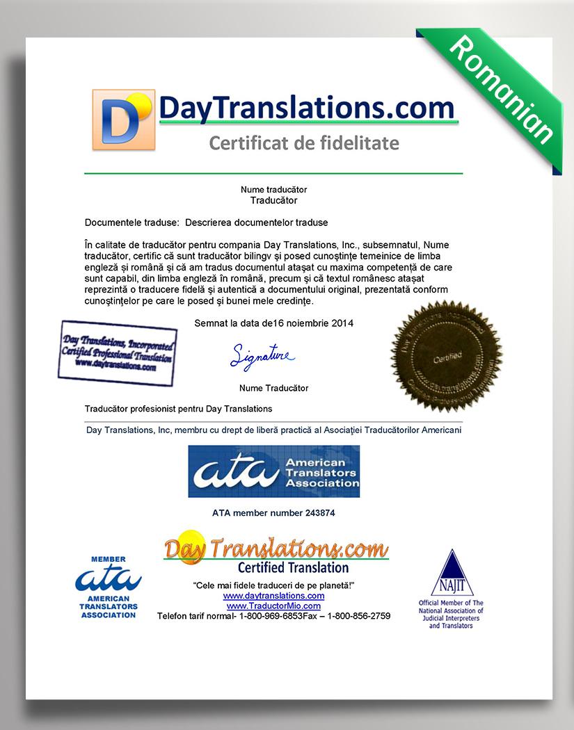 DayTranslations-COA_Romanian