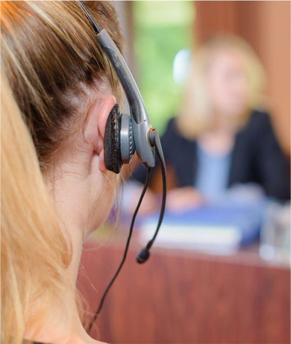 Interpreter in conference