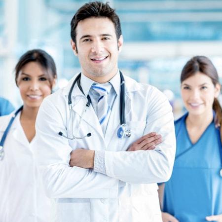 medical interpreting team