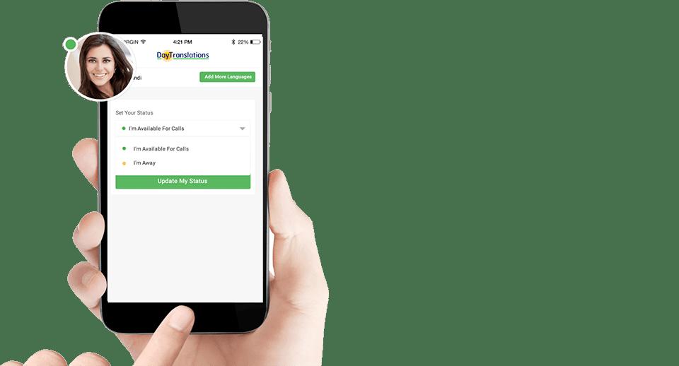 Day Translations Phone Interpreting App