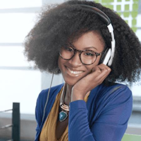 Phone Interpreting Woman