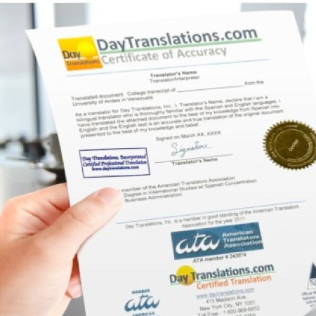 Certified Legal Translations
