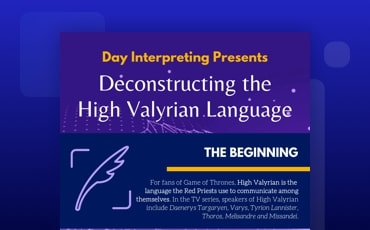 Inside High Valyrian Language
