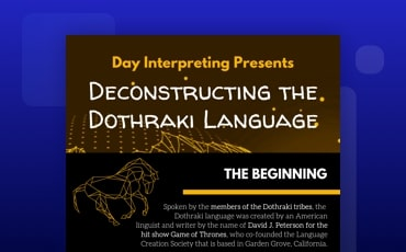 Inside the Dothraki Language
