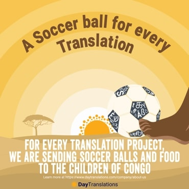 Soccer balls for Africa
