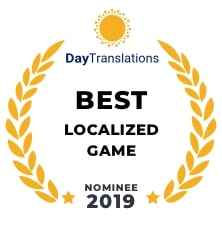 Nomination for Best Localized Game 2019