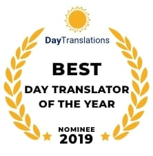 Nomination for Best Day Translator 2019