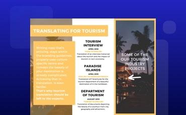 Tourism Case Study