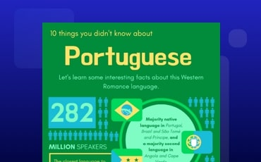 Portuguese Infographic
