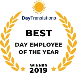 Best Day Employee of the year