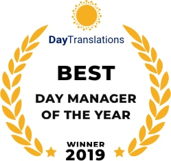 Best Day Manager of the year