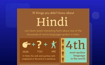 Hindi Infographic