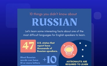 Russian Infographic