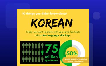 Language Korean
